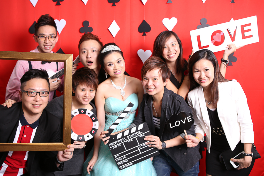 Casino Theme Photo Booth