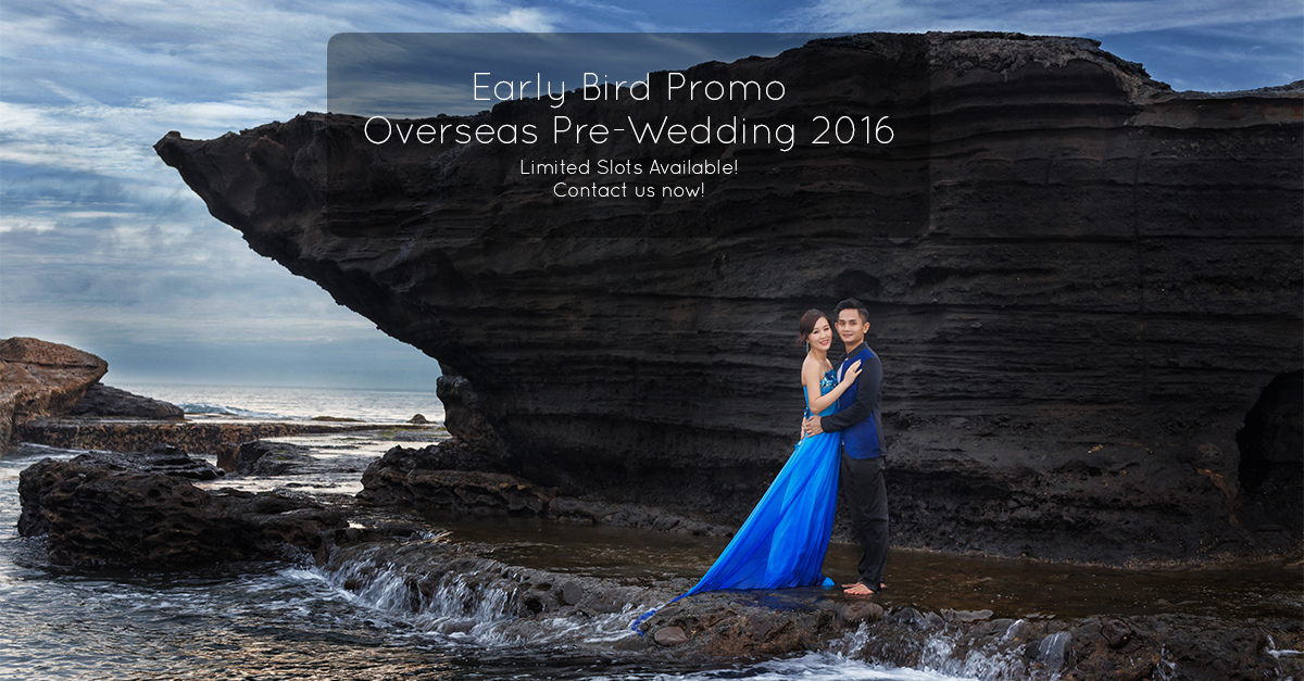 Overseas Pre Wedding Promotion