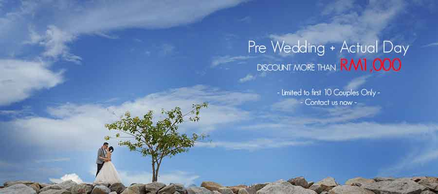 Pre Wedding And Actual Day Photography Promotion
