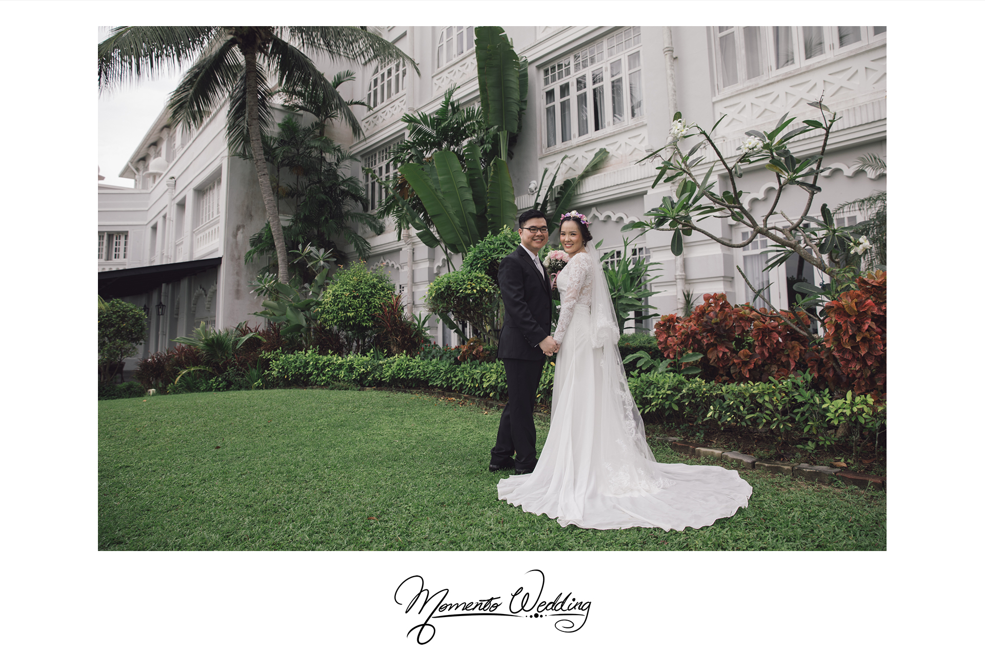 Garden Wedding at Eastern & Oriental Hotel