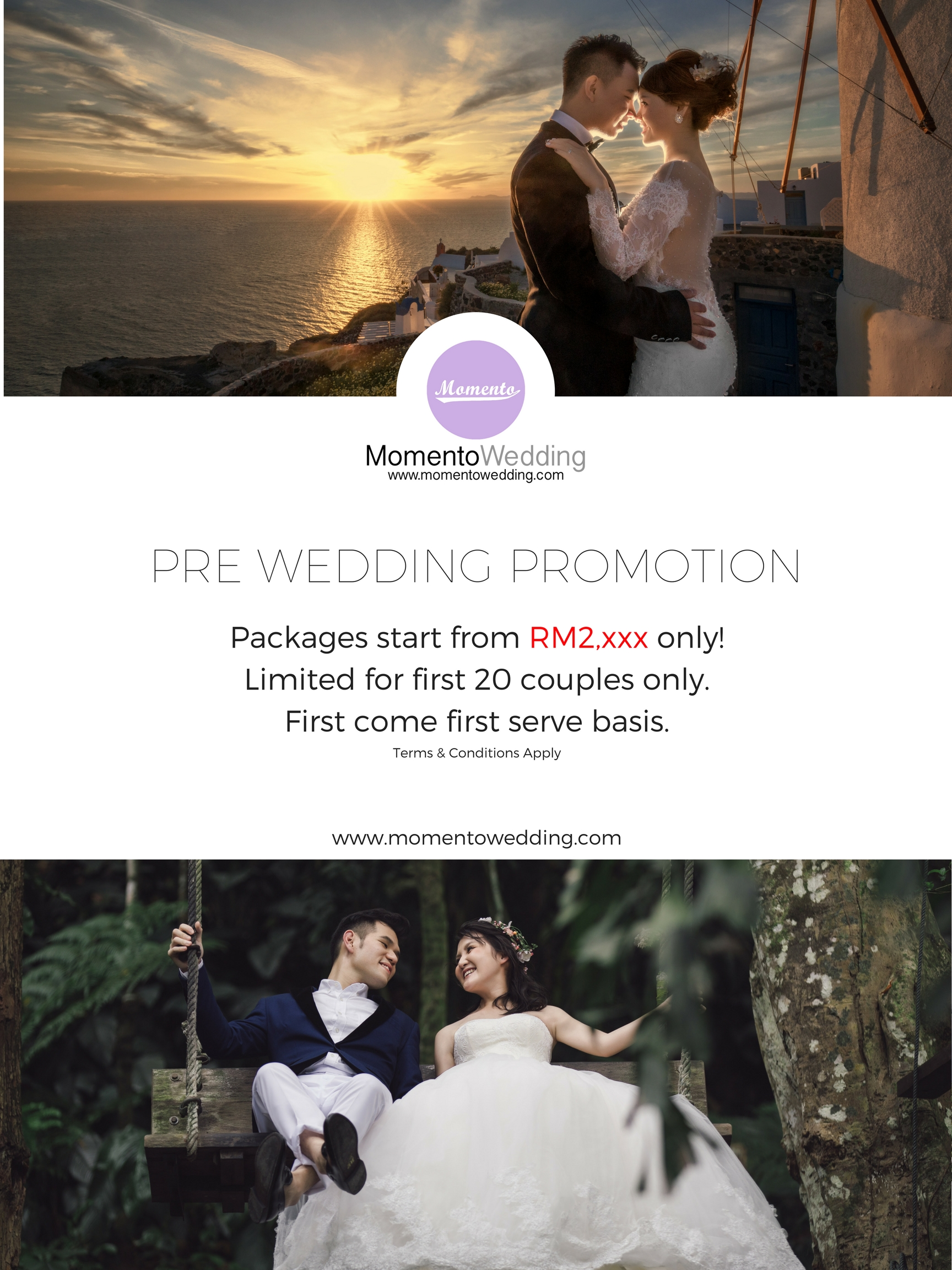 Grab Now During This Promotion Period You Can A Pre Wedding Package