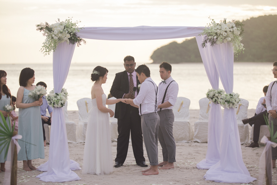 Beach Wedding at Langkawi