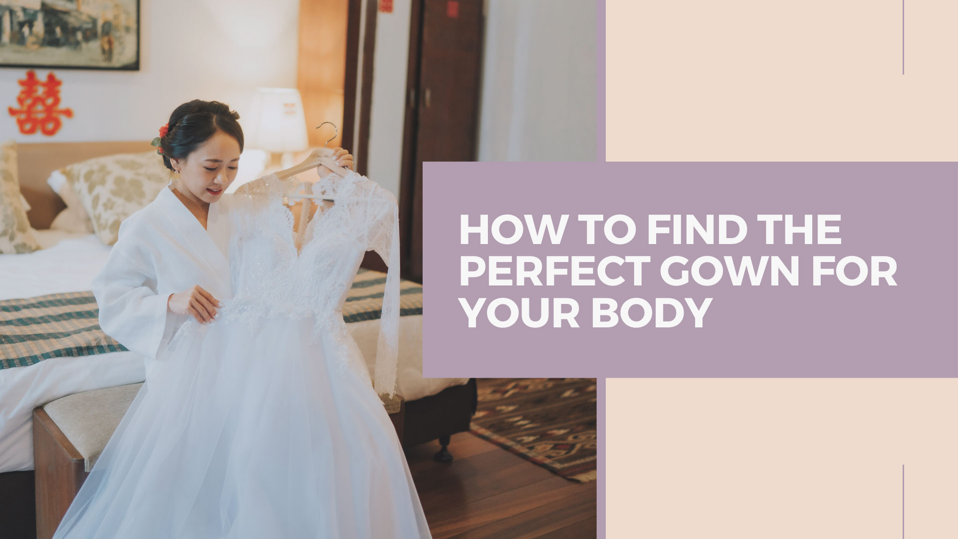 How to find the perfect gown for your body